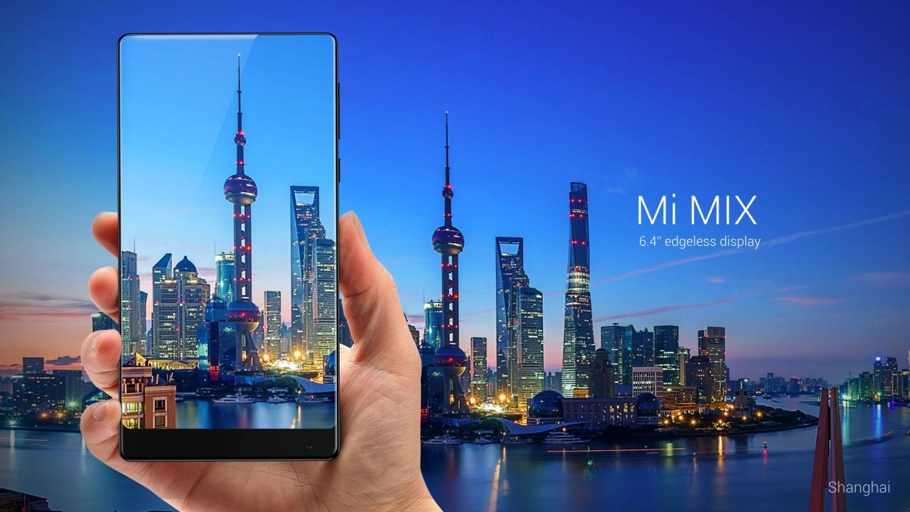 Xiaomi presenta Mi Max: lo smartphone senza cornici