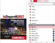 Disponibile su App Store lo Zingarelli 2017