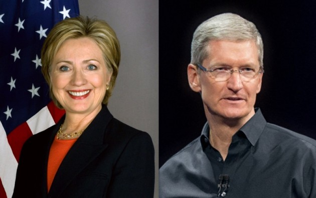 Hillary pensò a Tim Cook o Bill Gates come vicepresidente