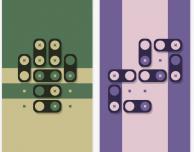 Huetopia, un puzzle game minimalista
