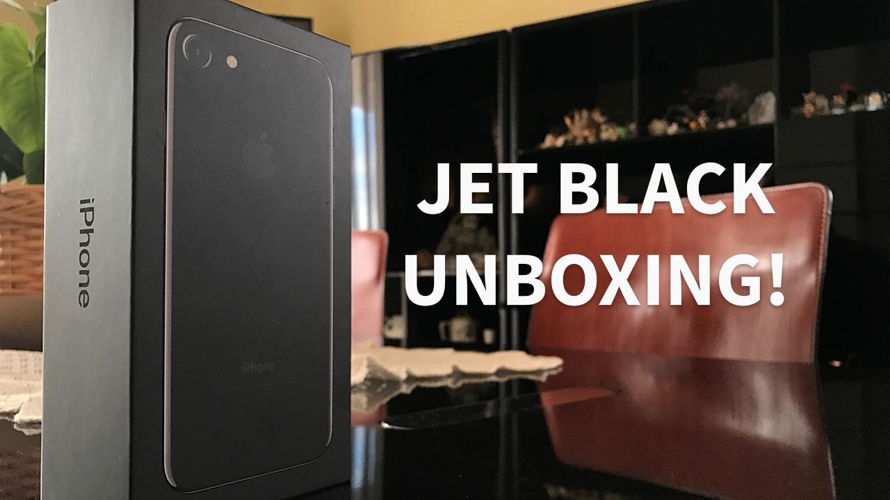 iPhone 7 Jet Black: Unboxing e Prime Impressioni! – VIDEO