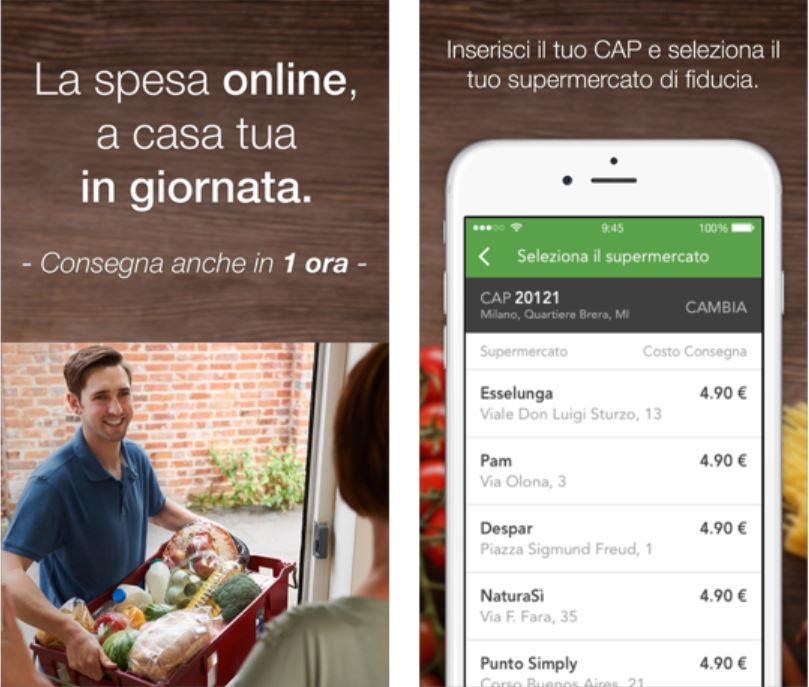 Supermercato24, l'app che ti fa fare la spesa dal tuo iPhone