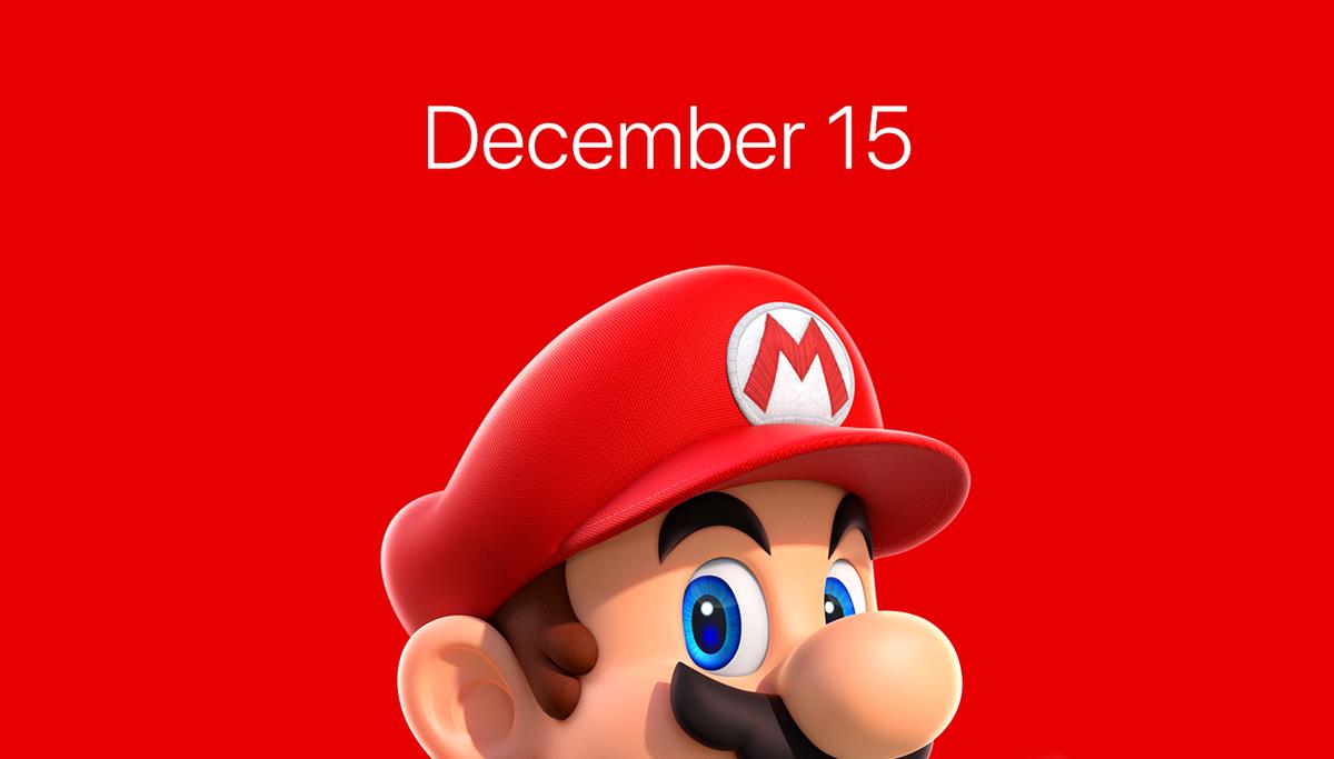 Super Mario Run arriva su App Store il 15 dicembre!