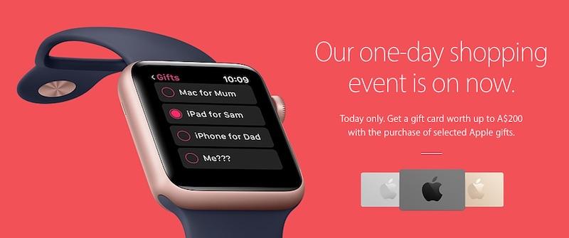 Black Friday Apple: fino a 200$ di carte regalo per chi acquista nuovi prodotti