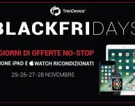 BlackFriDays TrenDevice: 4 giorni di sconti NO-STOP!