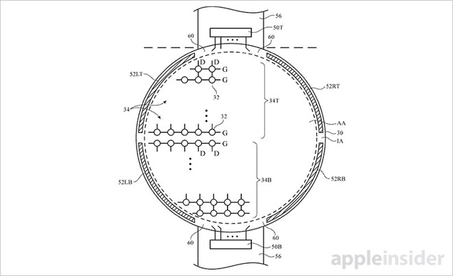 Apple brevetta l'Apple Watch rotondo