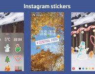 Instagram lancia gli adesivi nelle storie