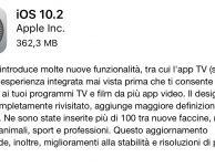 Apple rilascia iOS 10.2 [DOWNLOAD]