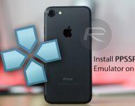 Installare l'emulatore PPSSPP per PlayStation su iOS 10
