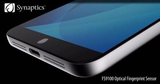 Synaptics produrrà il sensore di Galaxy S8?