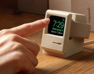 Un mini Macintosh 128k come Stand per Apple Watch – CES 2017