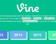 Vine crea un archivio di tutti i video caricati prima della chiusura del social network