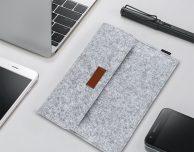 Custodia in feltro dodocool per MacBook, iPad e iPhone a soli 8,99€!
