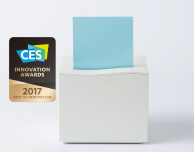 Mangoslab Nemonic: iPhone stampato sotto forma di Post-It – CES 2017