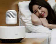 LG presenta l'innovativo Levitating Portable Speaker