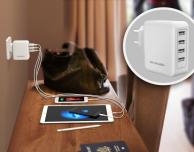 Provato il caricatore da muro RAVPower 40W con 4 porte USB [Coupon per i nostri utenti]