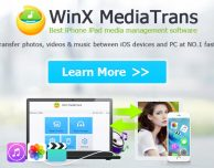 WinX MediaTrans gratis: un software per trasferire i file multimediali da iOS su PC e Mac