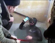 L'iPhone 7 Plus viene messo alla prova in Siberia.. accidentalmente
