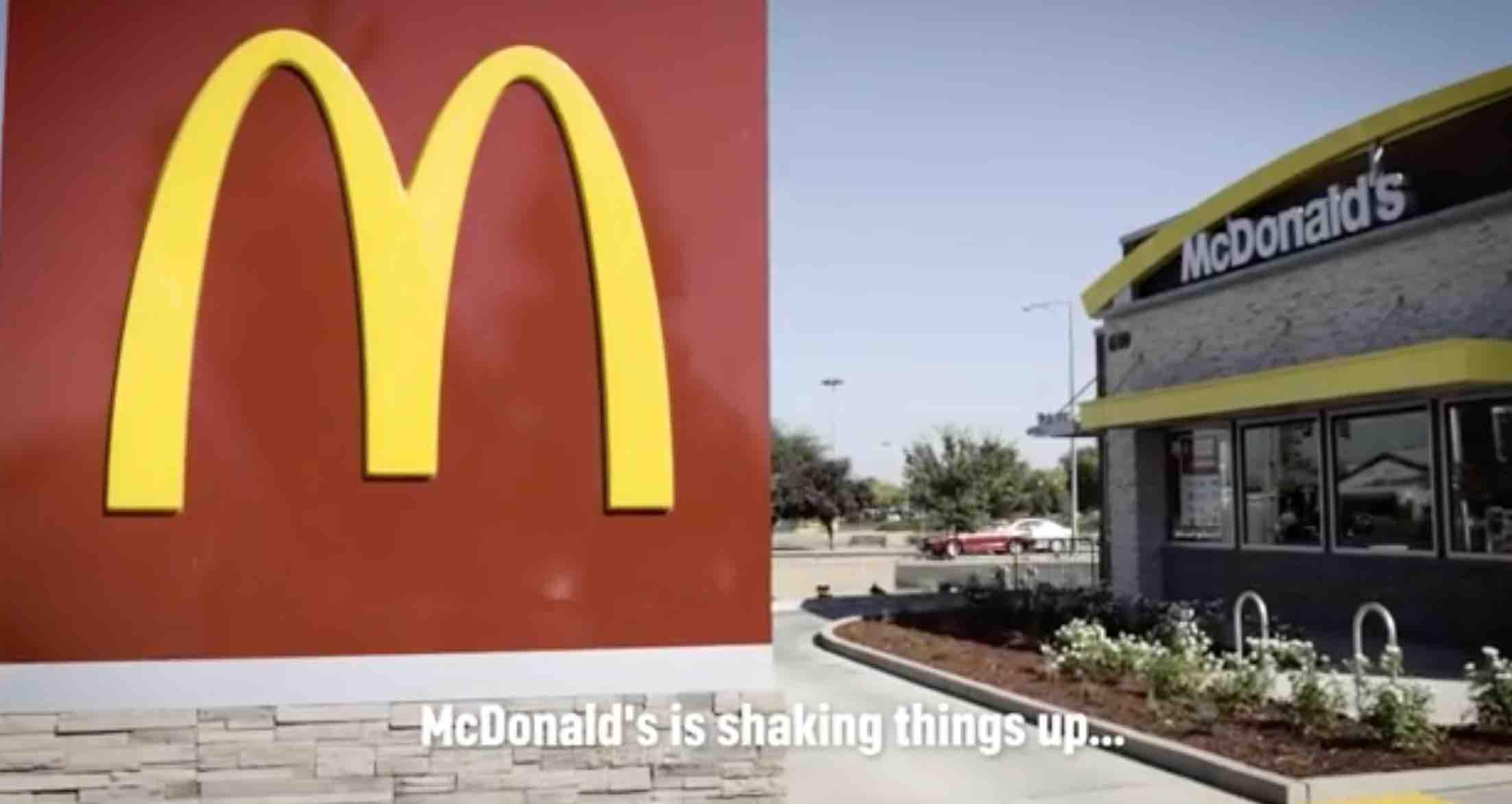 McDonald's annuncia una nuova cannuccia con una parodia su Apple