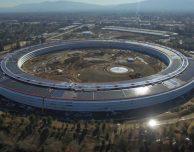 Apple Park: nuovo aggiornamento sullo stato dei lavori
