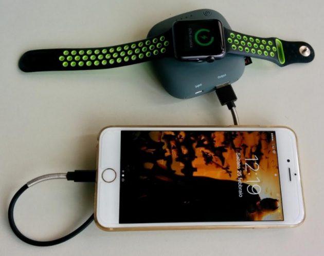 batteria esterna Apple Watch - iPhone