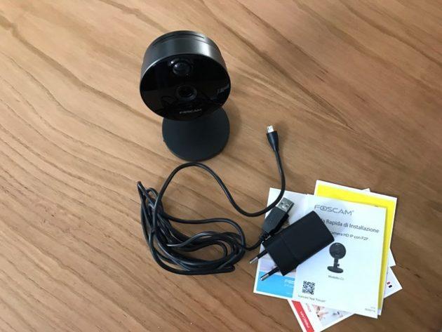 Tzetze tecnologia recensione foscam c1 la videocamera - Videocamera di sicurezza ...
