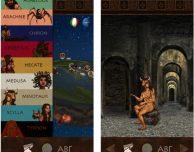 """Su iPhone il mito rivive con l'app """"Mostri Mitologici"""""""