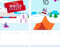 Ketchapp Winter Sports: nuovo high-score-game invernale