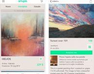 Artupia: arte e artisti dal mondo in un'unica app