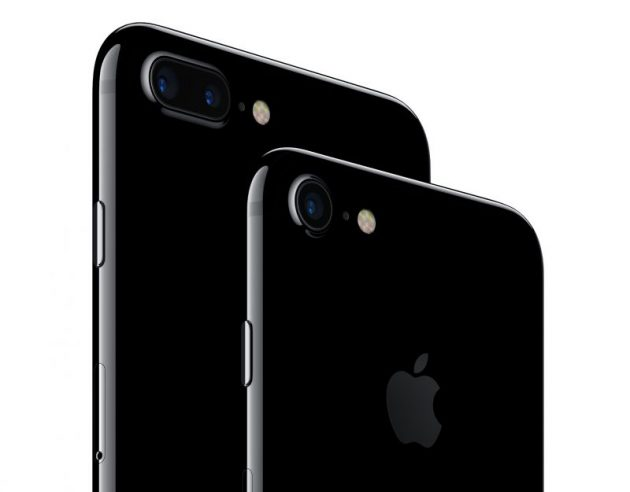 custodia iphone 7 nero opaco