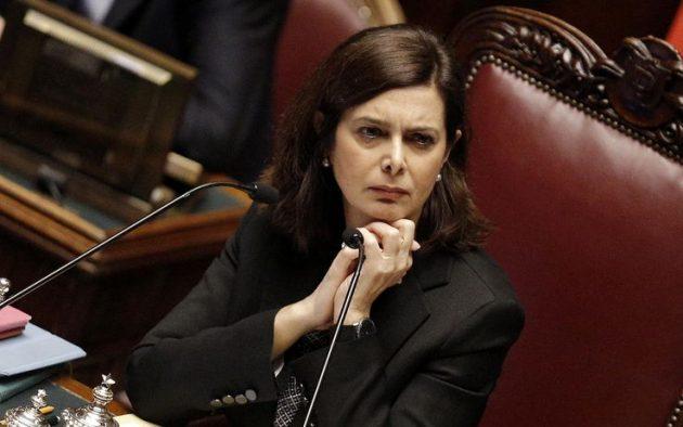 Discorso Camera Boldrini : L appello di laura boldrini u cadesso ci facciano lavorare