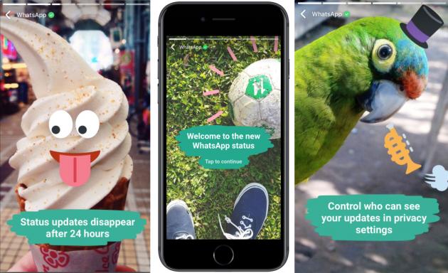 WhatsApp copia Facebook e introduce gli aggiornamenti di stato