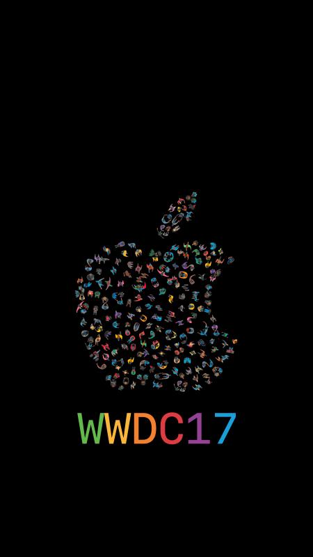 wwdc17-lockscreen-iPhone-wallpaper-mattbirchler-black