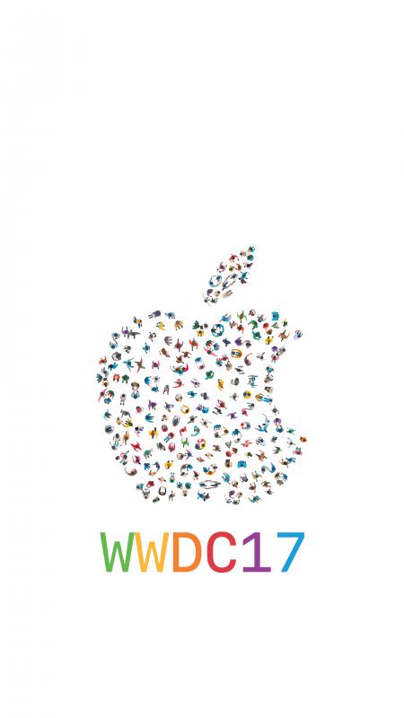 wwdc17-lockscreen-iPhone-wallpaper-mattbirchler-white
