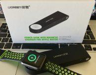 Batteria esterna per Apple Watch certificata MFI con porta USB integrata