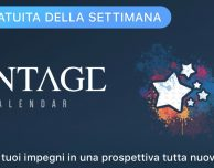Apple regala l'app Vantage Calendar
