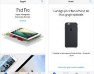 Nuovo update per l'app Apple Store