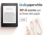 30€ di sconto su Kindle Papwerwhite!