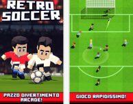 "Arriva su iOS ""Retro Soccer – Arcade Football Game"""