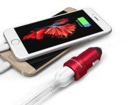 """Il caricatore da auto """"RED"""" da abbinare al nuovo iPhone 7 – Recensione"""