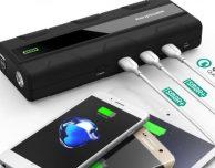 Da RAVPower arriva la batteria esterna per iPhone che avvia anche l'auto!