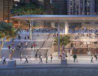 Apple mostra un nuovo rendering dello splendido Apple Store di Chicago