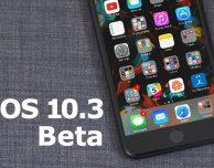 Apple rilascia la beta 6 di iOS 10.3