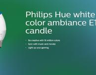 Philips presenta la lampadina Hue E14/B39