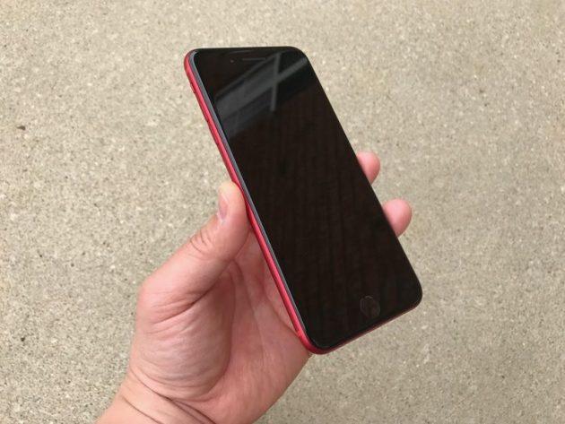 iPhone 7 Plus Product RED, eccolo con la parte frontale nera
