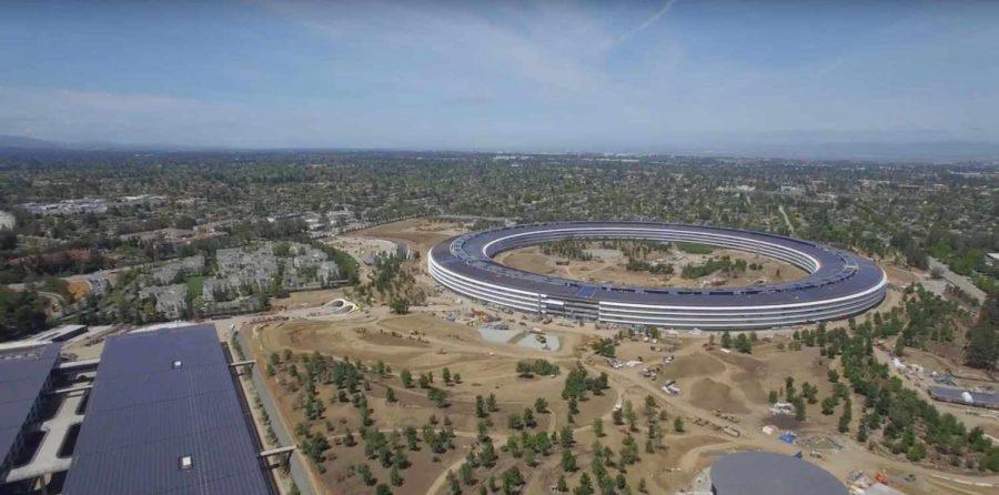 Apple Park, gli ultimi lavori documentati da un nuovo filmato