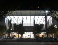 Prime foto del nuovo Apple Store di Singapore