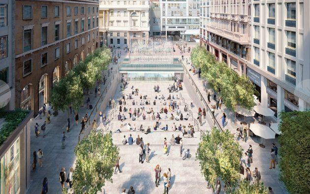 Apple mostra come sarà il negozio di Piazza Liberty a Milano