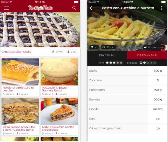 Impara A Cucinare Con Ricette Mania Iphone Italia