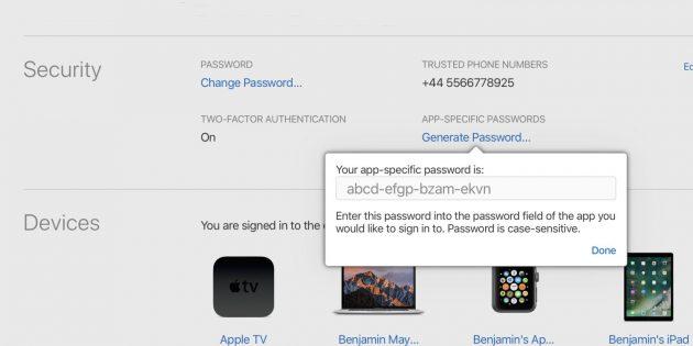ICloud: dal 15 giugno password specifiche per le app di terzi